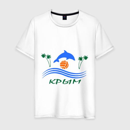 Мужская футболка хлопок Крым