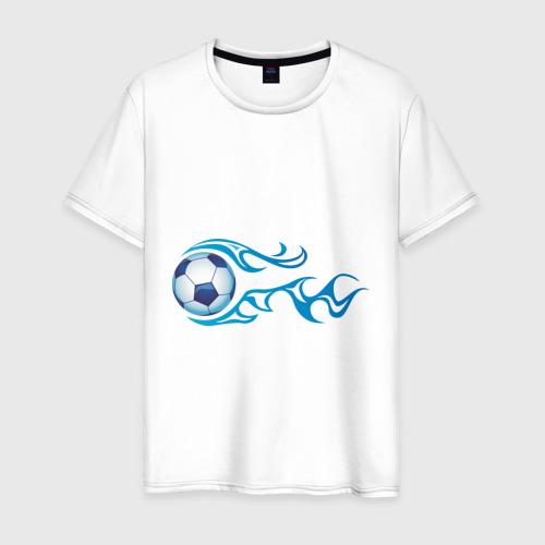 Мужская футболка хлопок Football Blue