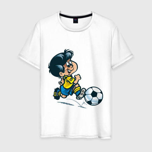 Мужская футболка хлопок Футболист (5)