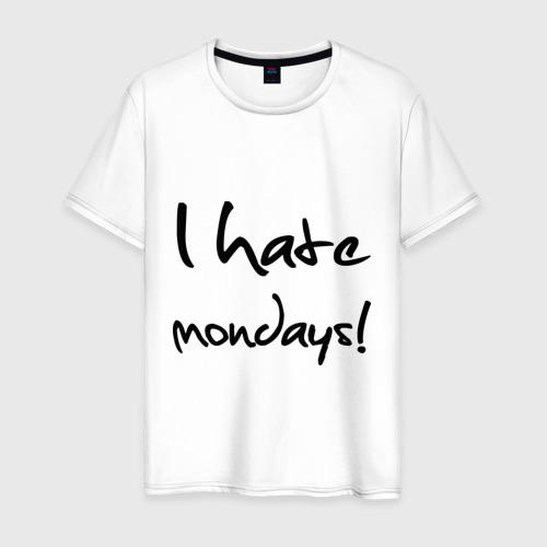 Мужская футболка хлопок Нate mondays