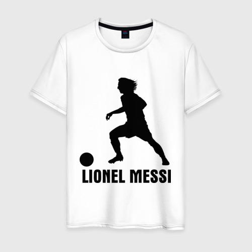Мужская футболка хлопок Lionel Messi