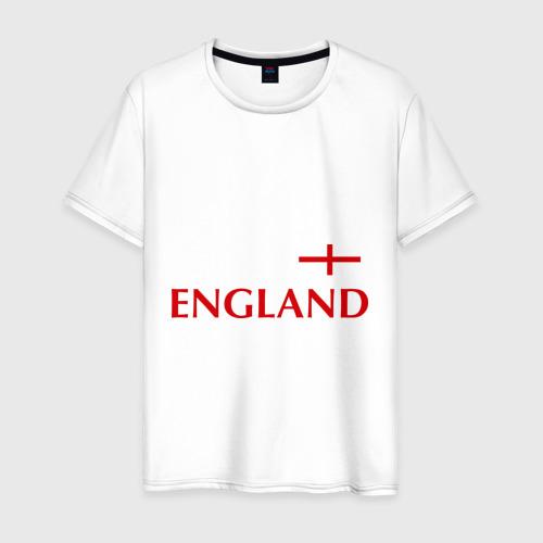 Мужская футболка хлопок Сборная Англии - Стивен Джеррард 4