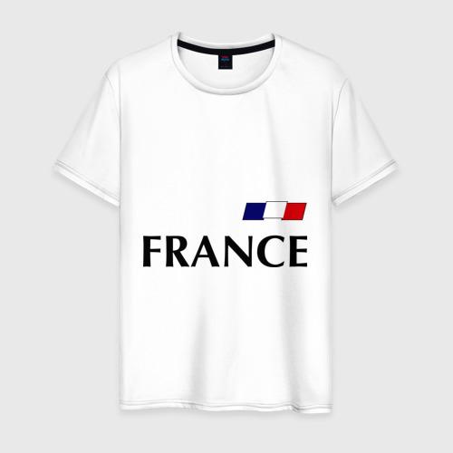 Мужская футболка хлопок Сборная Франции - Бензима 10 (Benzima)