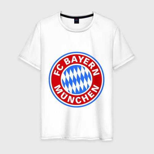 Мужская футболка хлопок Bavaria-Munchen