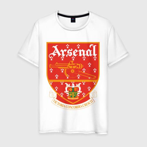 Мужская футболка хлопок Арсенал Лондон