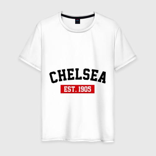 Мужская футболка хлопок FC Chelsea Est. 1905
