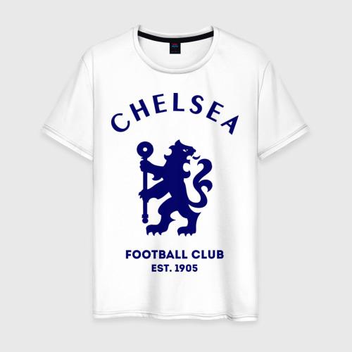 Мужская футболка хлопок Челси Футбольный клуб Chelsea