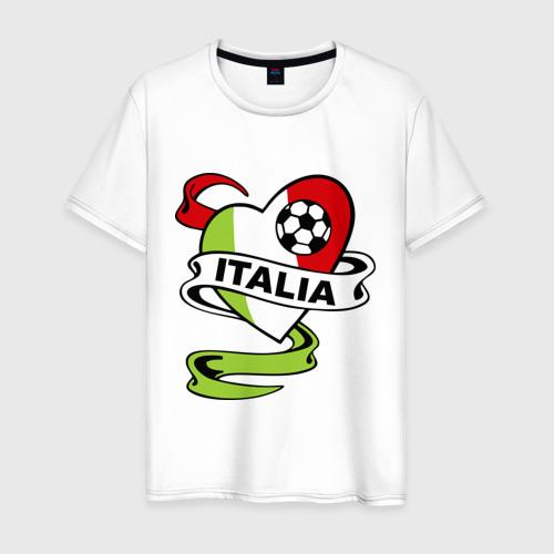 Мужская футболка хлопок Сборная Италии по футболу