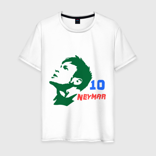 Мужская футболка хлопок Неймар (Neymar)