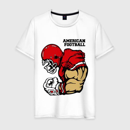 Мужская футболка хлопок Американский футбол