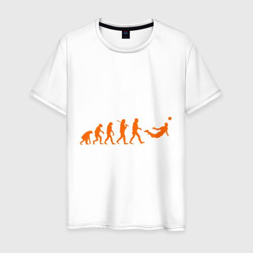 Мужская футболка хлопок Van Persie evolution