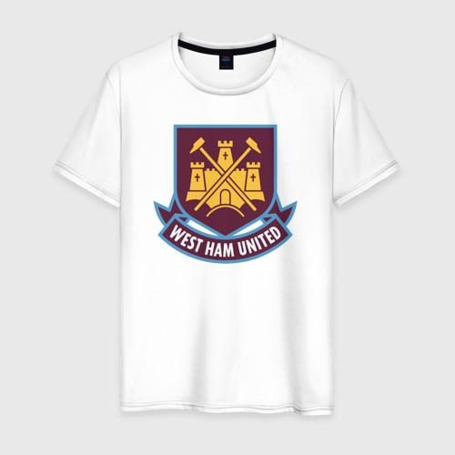 Мужская футболка хлопок Вест Хэм, BPL, West Ham