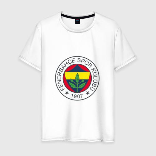 Мужская футболка хлопок Фенербахче