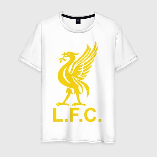Мужская футболка хлопок Liverpool Gerrard