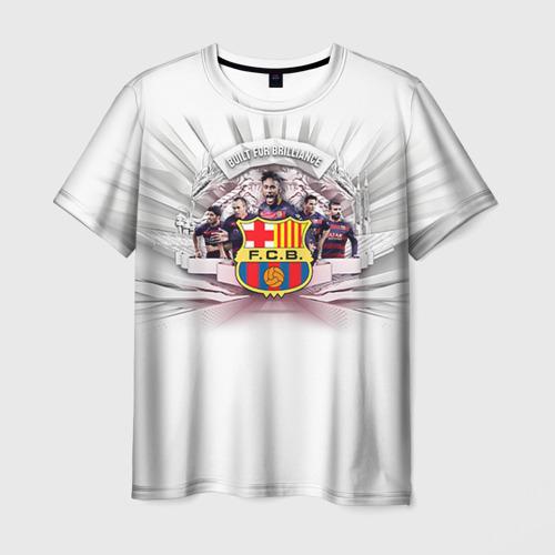 Мужская футболка 3D Барселона 1