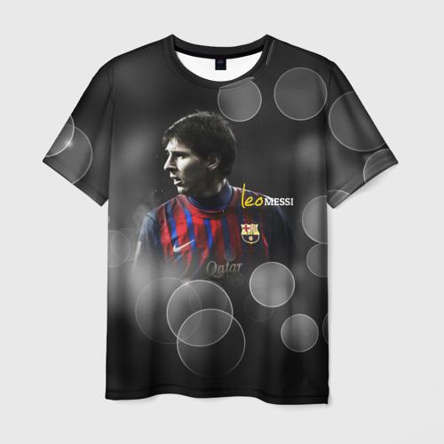Мужская футболка 3D Месси (leo messi)