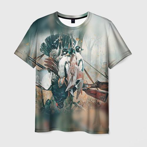 Мужская футболка 3D Утки