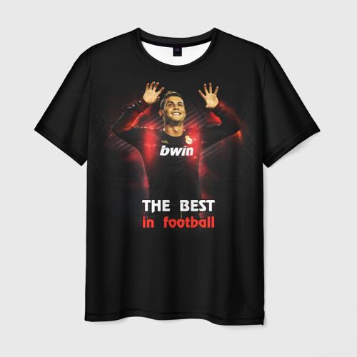 Мужская футболка 3D The best in football