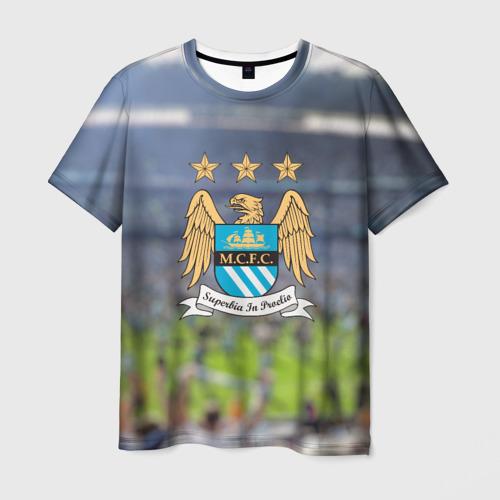 Мужская футболка 3D Manchester city