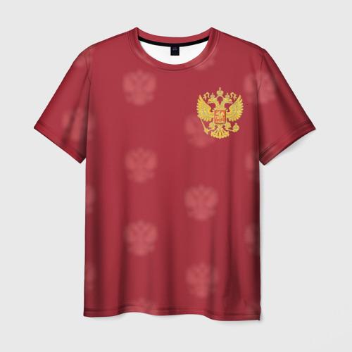 Мужская футболка 3D Сборная России по футболу
