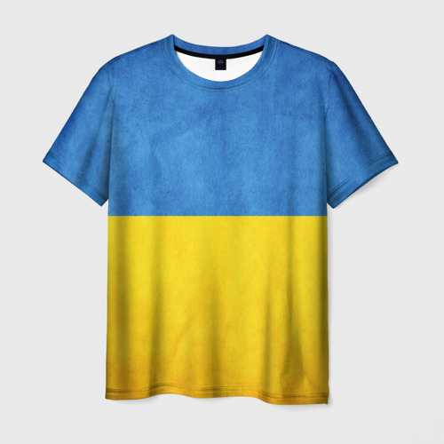 Мужская футболка 3D Украина