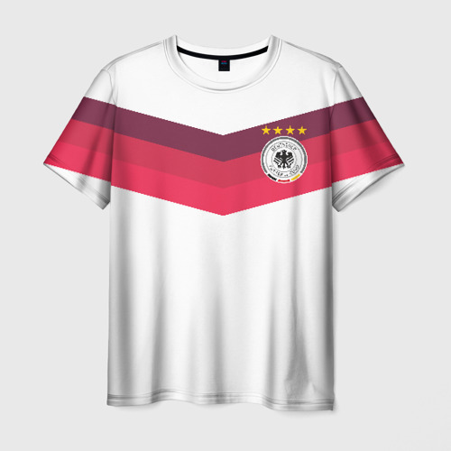 Мужская футболка 3D Сборная Германии по футболу