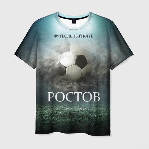 Мужская футболка 3D FK Rostov