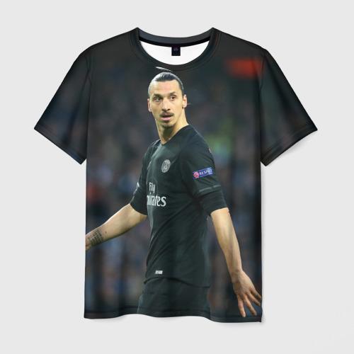 Мужская футболка 3D Златан Ибрагимович