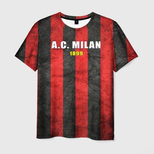 Мужская футболка 3D A.C. Milan