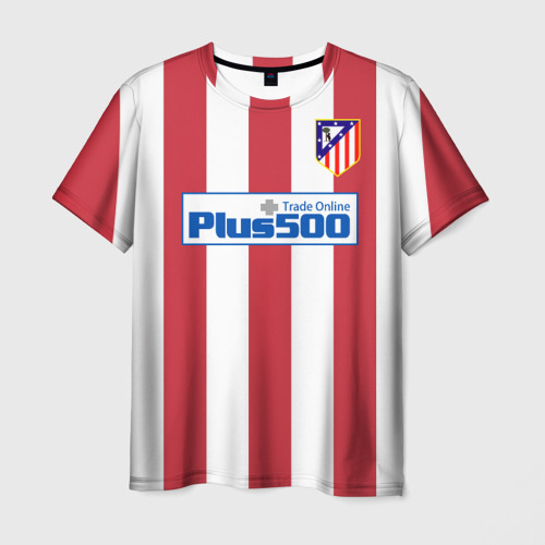 Мужская футболка 3D Atletico