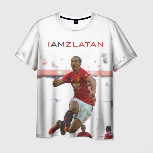 Мужская футболка 3D IAmZlatan