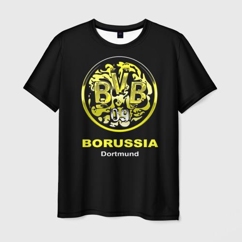 Мужская футболка 3D Borussia Dortmund