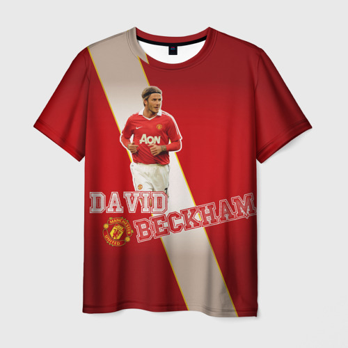 Мужская футболка 3D David Backham