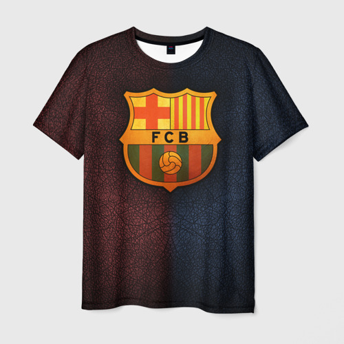 Мужская футболка 3D Barcelona8