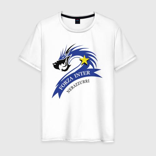 Мужская футболка хлопок Forza Inter