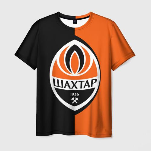 Мужская футболка 3D ФК Шахтер Донецк
