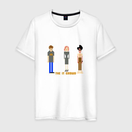 Мужская футболка хлопок The IT Crowd, Айтишники