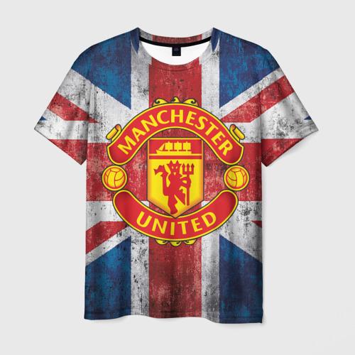 Мужская футболка 3D Manchester United №1!