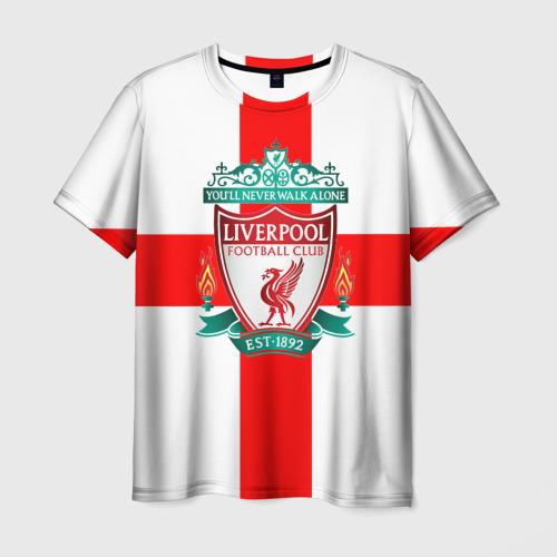 Мужская футболка 3D Ливерпуль ФК