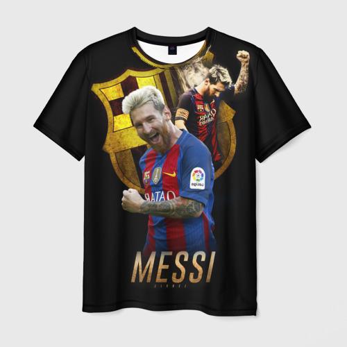 Мужская футболка 3D Messi