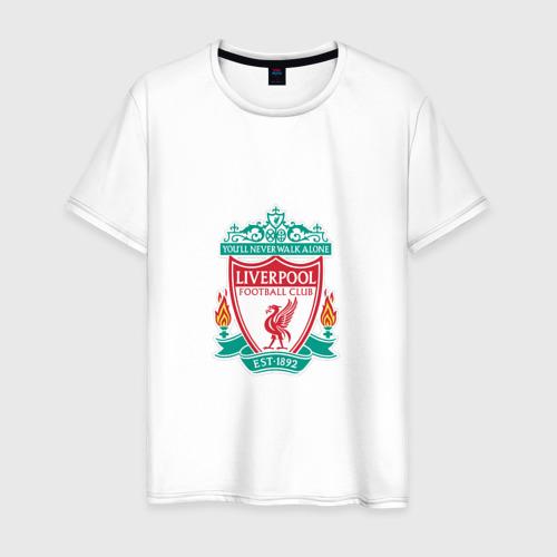 Мужская футболка хлопок Ливерпуль