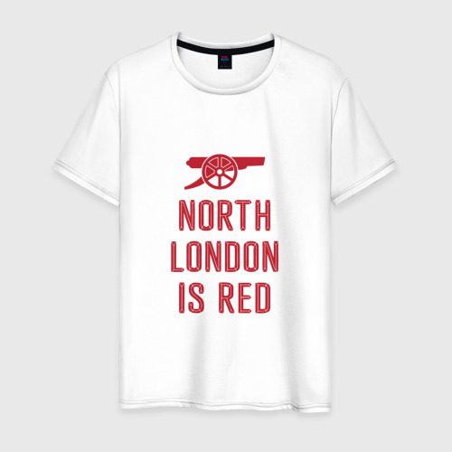 Мужская футболка хлопок North London is Red