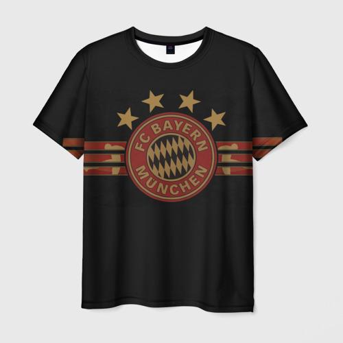 Мужская футболка 3D Бавария Мюнхен