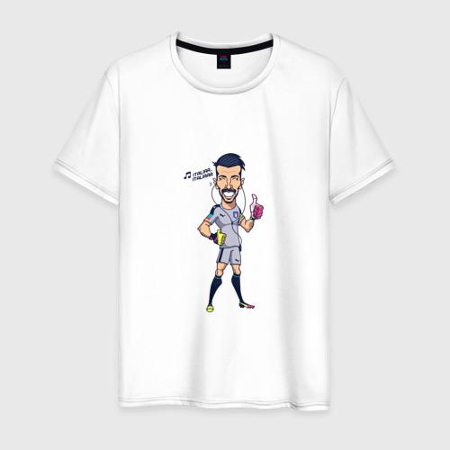 Мужская футболка хлопок Буффон