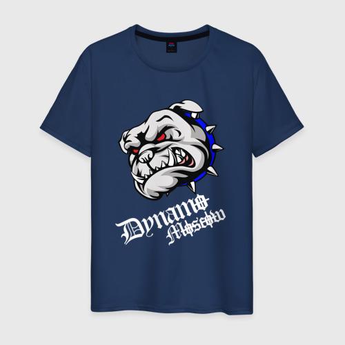 Мужская футболка хлопок Бульдог