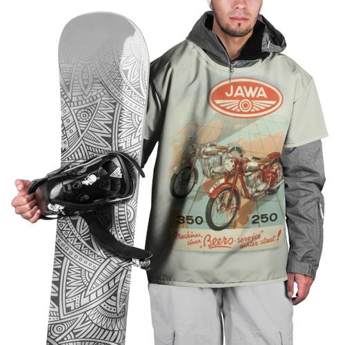 Накидка на куртку 3D JAWA