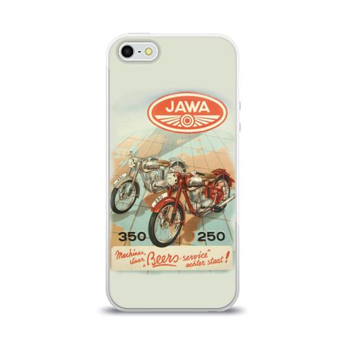 Чехол для iPhone 5/5S глянцевый JAWA