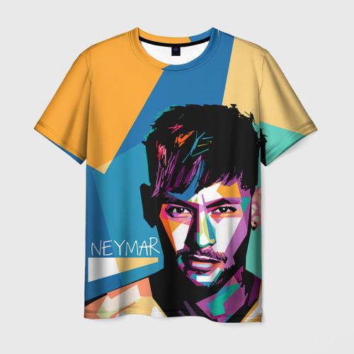 Мужская футболка 3D Neymar