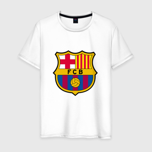 Мужская футболка хлопок ФК Барселона
