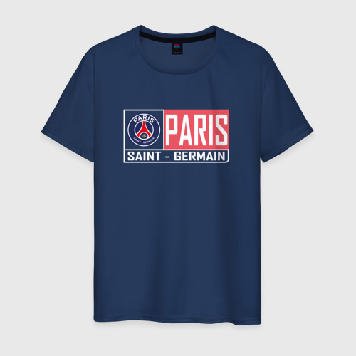 Мужская футболка хлопок Paris Saint-Germain - New collections 2018